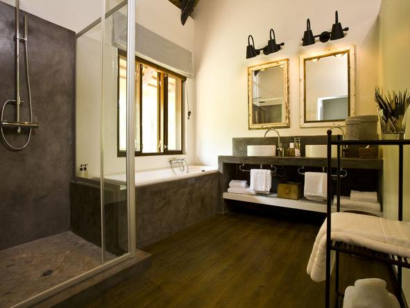 Mushara Lodge - Bathroom